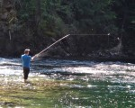 Salmon Fishing on Shuswap River