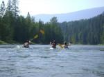Kayaking on the Shuswap