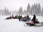 Snowmobiling with Freinds
