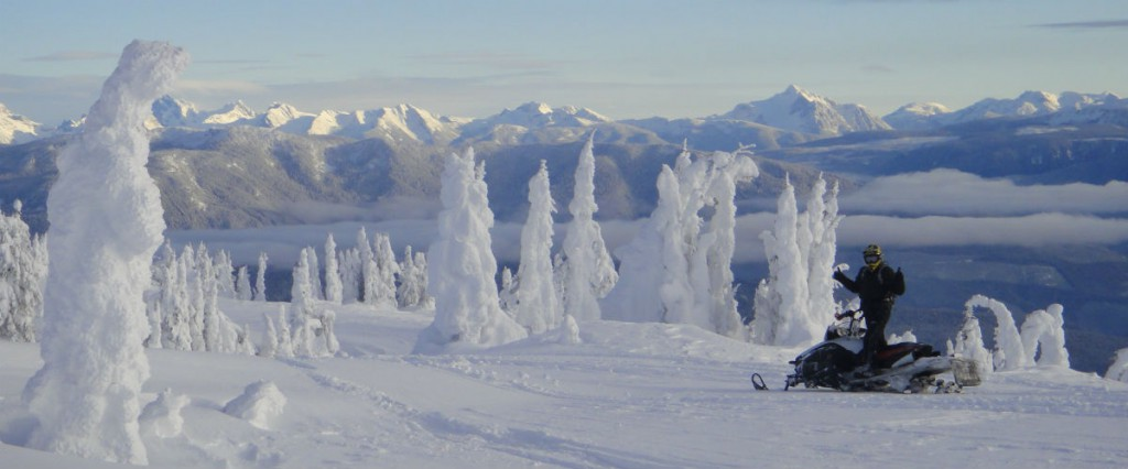 World Class Snowmobiling and Scenery